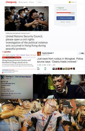 Calvin's Custom: Umbrella Man @ Occupy Central Petition to International Criminal Court
