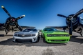 Camaro, Challenger, and Airplanes