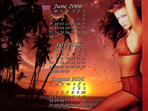 Carmen Electra wallpaper containing a bikini called Carmen