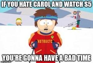 Carol Hater?