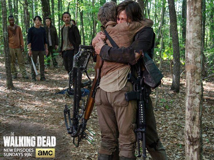 5x01 ~ No Sanctuary ~ Carol & Daryl