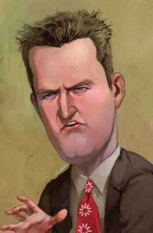 Cartoon Matthew Perry