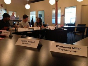 Cast - Table read