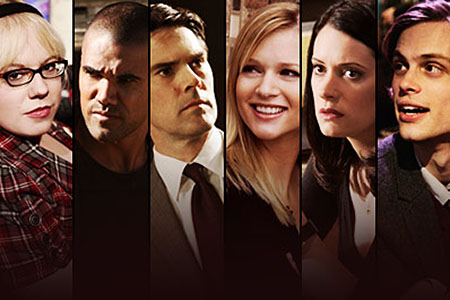 Criminal Minds wallpaper with a business suit called Cast of Criminal Minds
