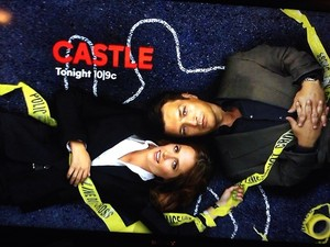 Castle and Beckett-Promo poster