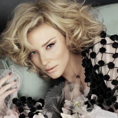 Physical Beauty wallpaper possibly containing a bouquet and a portrait entitled Cate Blanchett