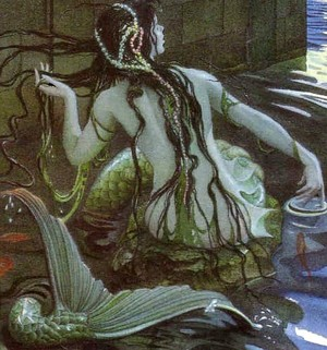 Charles Santore's illustration for The Little Mermaid