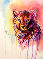 Cheetah Art