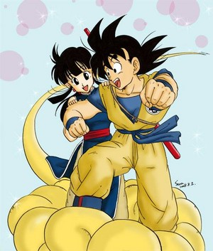 Chi Chi X Goku