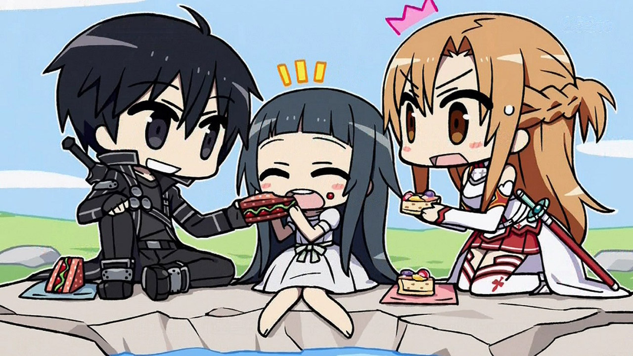 Chibi SAO cutest family
