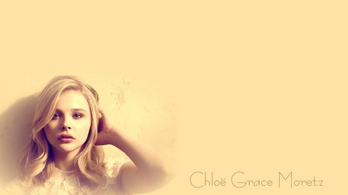 Chloe Moretz Hintergrund possibly containing a portrait called Chloe Moretz Hintergrund