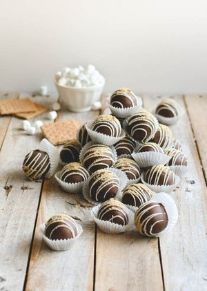 Schokolade Truffles