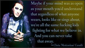 Chris Motionless Cerulli