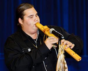 Cody Blackbird, Flutist, Singer