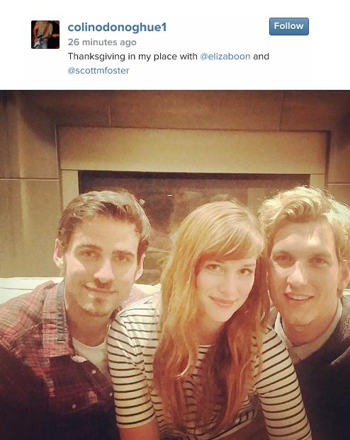 Colin, Elizabeth and Scott