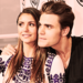 Comic Con 2014 - paul-wesley-and-nina-dobrev icon