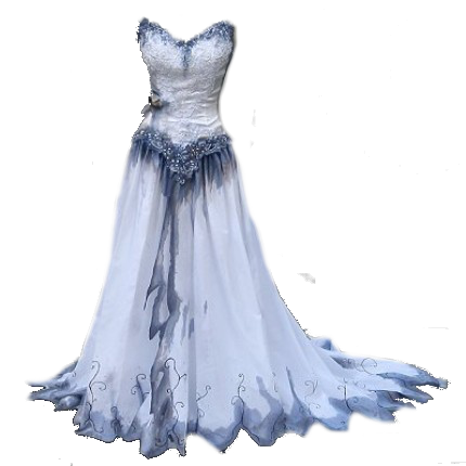 Corpse Bride Dress Transparent