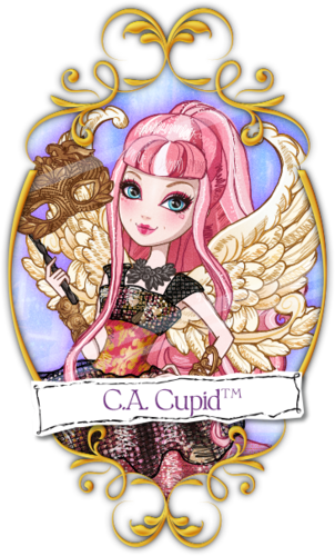 Ever After High wallpaper entitled Cupid Thronecoming