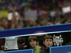 Daniel Radcliffe And Matthew Lewis At WWF (OLD PIC) (Fb.com/DanielJacobRadcliffeFanClub)