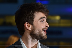 Daniel Radcliffe At 'Horns premiere' In 런던 Uk (FB.com/DanielJacobRadcliffeFanClub)