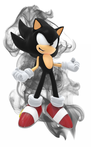 Sonic the Hedgehog achtergrond entitled Dark Super Sonic