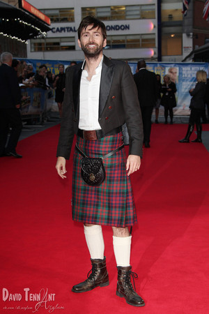 David Tennant - What We Did On Our Holiday - UK Premiere