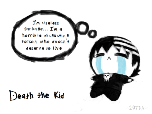 Death the Kid chibi (ish)