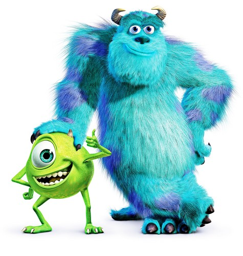 월트 디즈니 캐릭터 바탕화면 called Disney•Pixar Posters - Monsters, Inc.