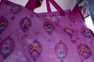 Disney princess Tote Bag with Blanket