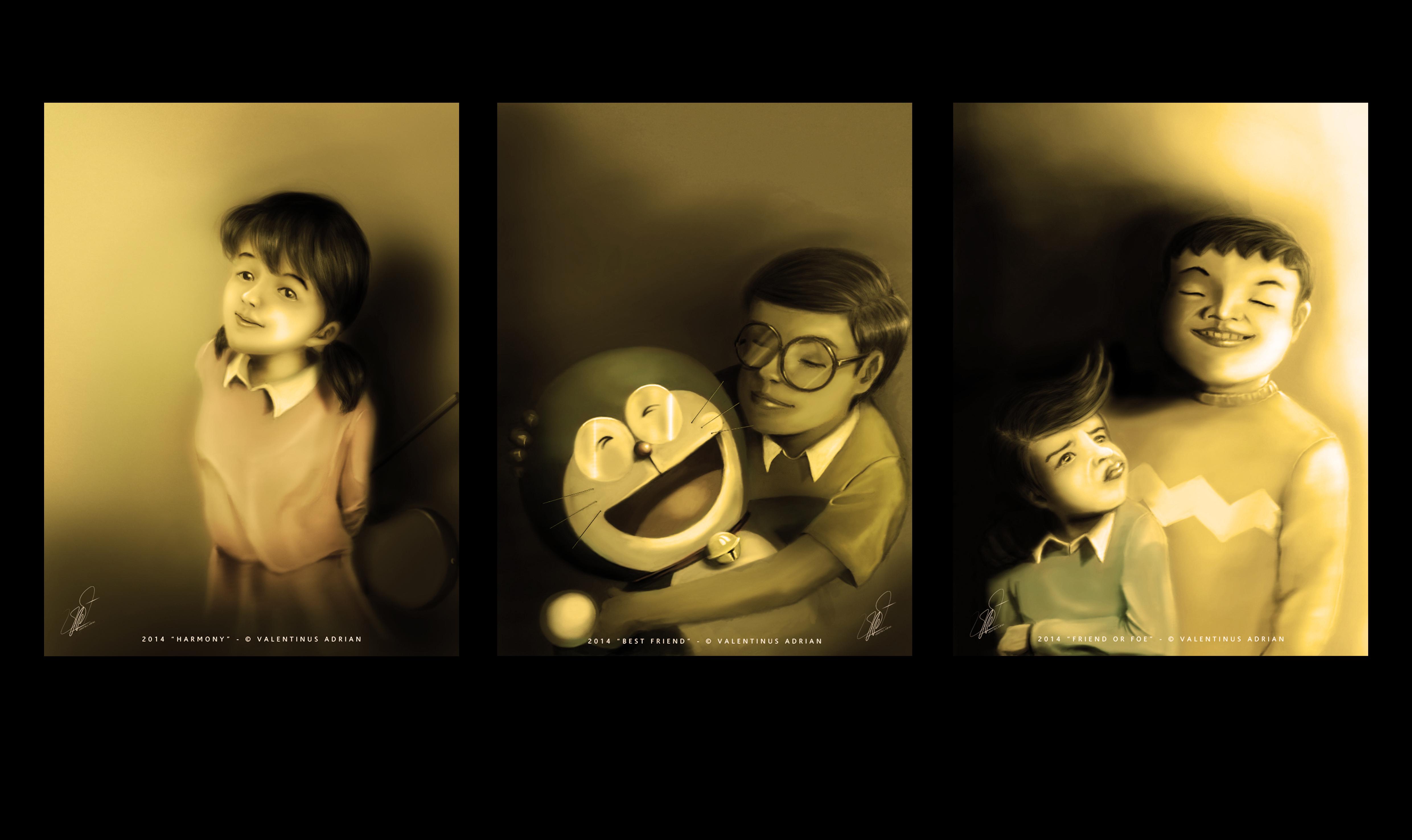 Doraemon-O Gato do Futuro Character wallpaper