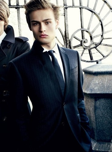 Hottest Actors wallpaper containing a business suit, a suit, and a well dressed person entitled Douglas Booth