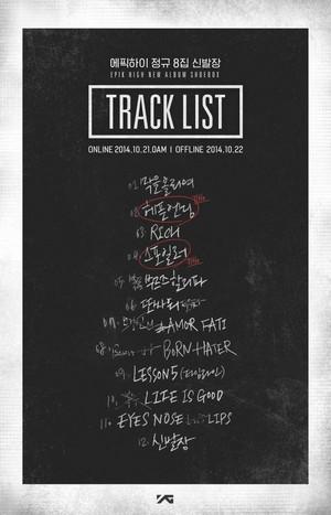EPIK HIGH tracklist for ''