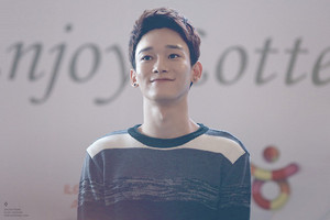 EXO's Chen @ Lotte Fanmeeting