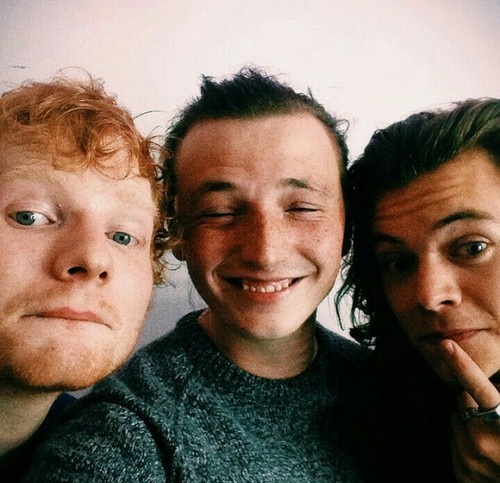 Ed, Lewis and Harry