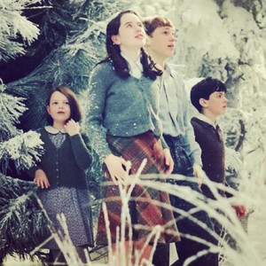 Edmund, Lucy, Susan and Peter Pevensie