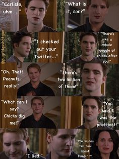 Edward and Carlisle...LOL