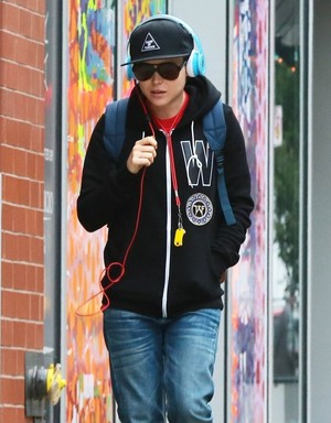Ellen Page in NYC, October 1st, 2014