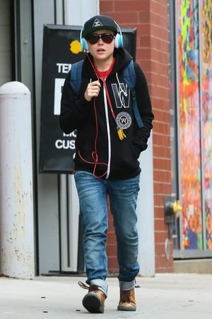 Ellen Page in NYC, October 1st, 2014