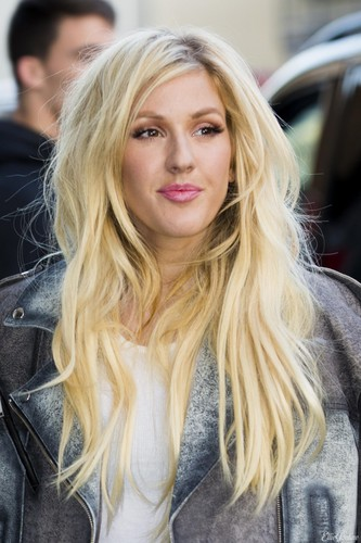 Ellie Goulding Wallpaper Containing A Portrait Called Attends David Beckham For H