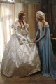 Elsa and Anna on Once Upon a Time