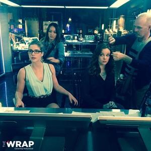 Emily Bett Rickards for TheWrap - crossover