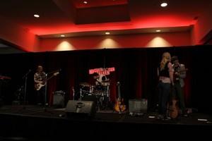 Emily Kinney rehearses for 2013 Walker Stalker Con (November 2, 2013)