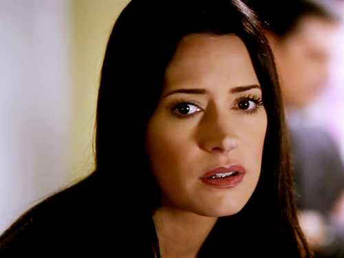 Emily Prentiss Hintergrund containing a portrait entitled Emily Prentiss
