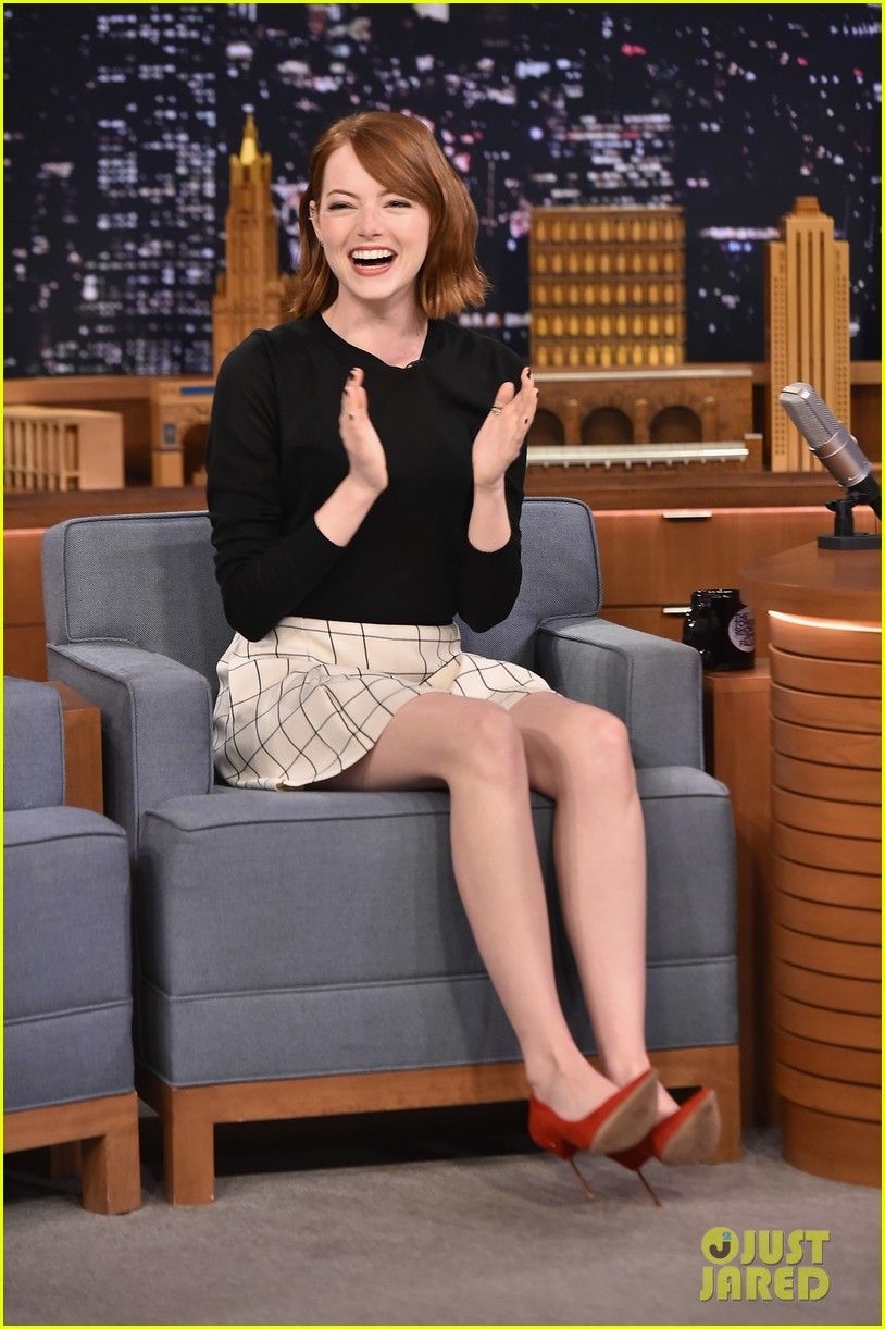 Emma Stone  on The Tonight Show