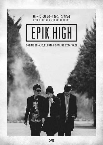Epik High karatasi la kupamba ukuta possibly containing a business suit entitled Epik High new album 'Shoebox' Cover