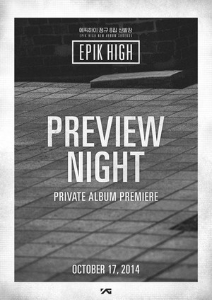 Epik High prebiyu night 'Shoebox'