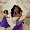 Childhood Animated Movie Heroines photo probably containing a kirtle entitled Esmeralda