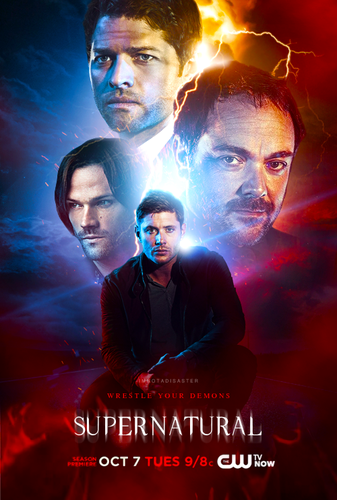 Supernatural wolpeyper called Fan-made Poster