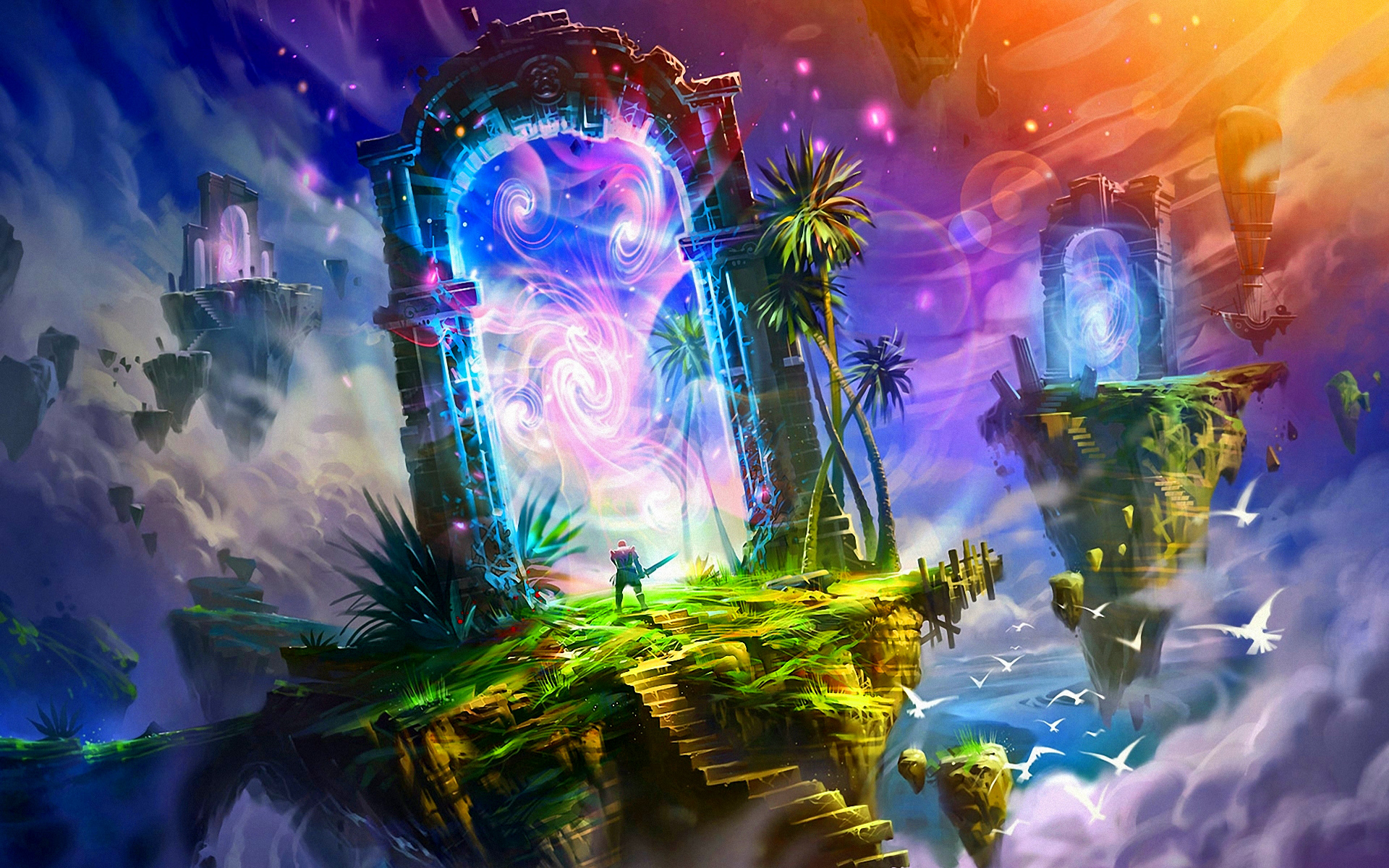 Fantasy land fantasy hintergrund 37691142 fanpop - Magic land wallpaper ...