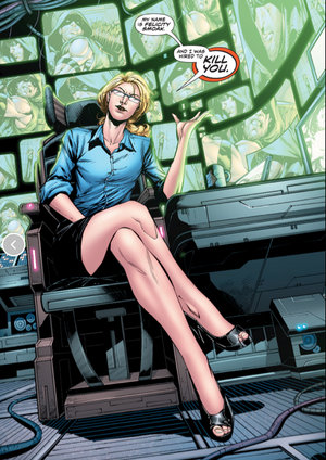 Felicity Smoak Comic